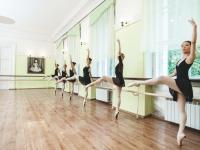 Танцевальный зал 105, в Доме учителя