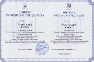 Kyiv Choreographic College
